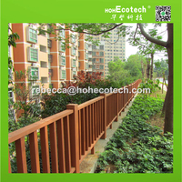 recycled cheap wood plastic composite fence posts for sale
