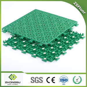Free sample portable badminton court mat plastic floor covering