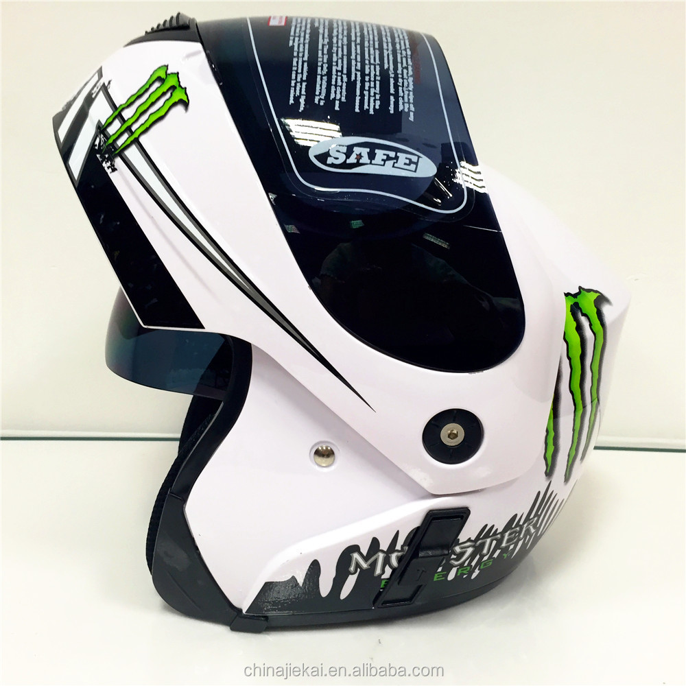 Top sell double visors flip up helmet