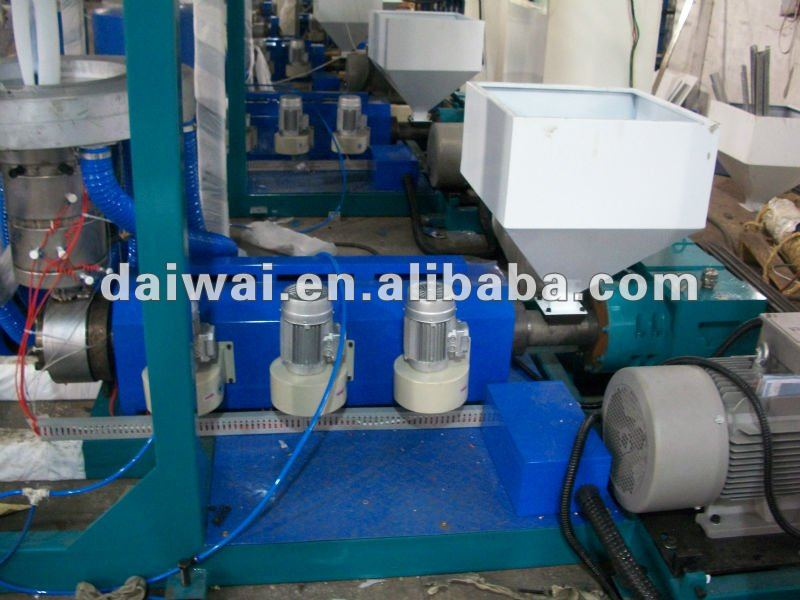 HDPE Super High Speed Blown Film Machine with high output and Screw L/D ratio 32:1 DW-SBFM-55