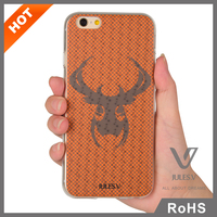 Cute cartoon design beautiful 3D printing phone back cover for iPhone 6 Plus