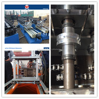 Stainless steel metal stud and track roll forming machine Light keel roll forming machine