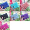 Multicolor elegant wallet Purse billetera cartera para dama de calidad ID CARD HOLDER