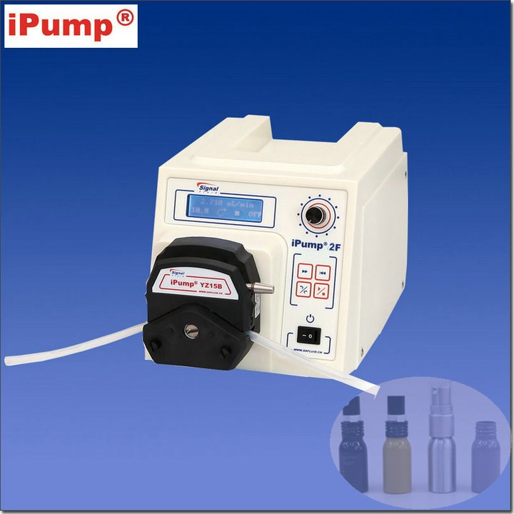 hand operated electric pump for cosmetic