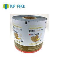 laminated food grade potato chips sachet packing packaging plastic nylon roll film