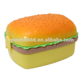 Hamburger Lunch Box,Cute Burger lunch box square type