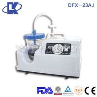 China leading manufacturer cheapest medical portable phlegm suction unit with CE
