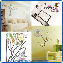 decorative animal flower great wall stickers