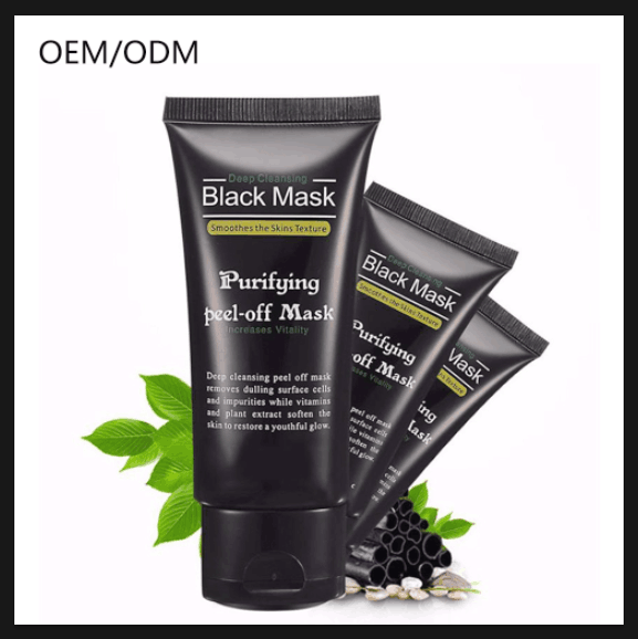 Bamboo charcoal Deep Cleansing Blackhead remover natural peel off mask