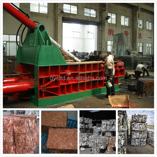 315 Tons Hydraulic Manual Waste Metal Compress Machine