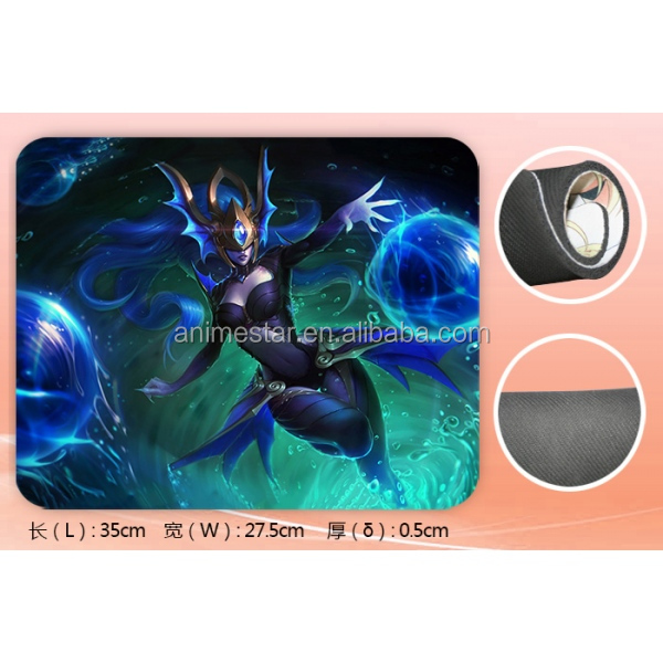 Anime League of Legends(LOL) Anime Mouse Pad