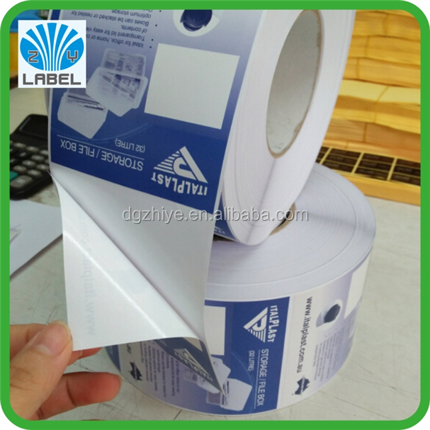 Factory cheap price labels Removable label documen label sticker