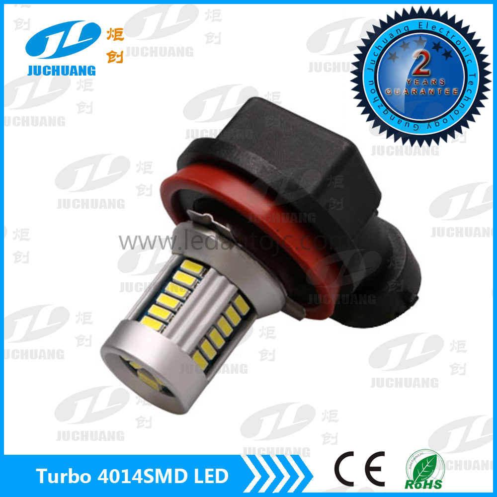 CE&RoHS certification approved car 4014smd led lighting bulbs H11 fog lamp