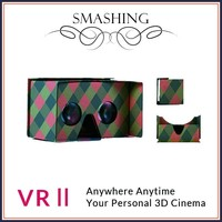 advertising gifts cardboard 3d game glasses blue film sex video google