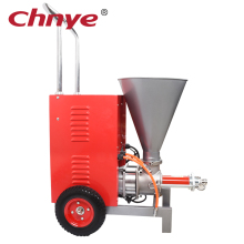 Portable airless true stone coating wall putty sprayer painting machine