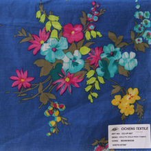 Onway textile 2015 embroidered cotton voile fabric polyester voile fabric voile panels