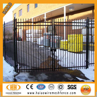 China Alibaba supplier cheap steel house fences and gates design