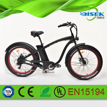 Cheap Price Fat tire 48V 500W beach cruiser electric bike from China