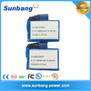 Customized sunB103450 3.7v 1800mah flat li ion deep cycle battery price