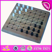 2015 Intelligent wooden chess games play ,high quality wooden chess borad /chess game WJ277101