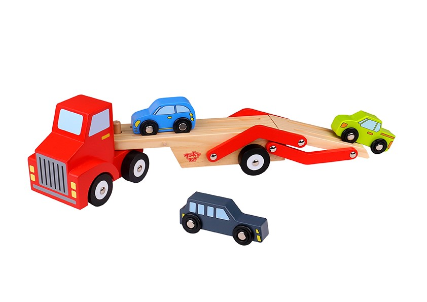 Baby Arts and Craft Car Carrier Wooden Toy Vehicles