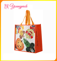 Customize Recycled Woven Polypropyelene Shopping Bags