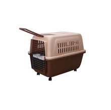 Foldable Plastic Cage Dog Carrier For Car