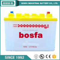N90 12v90ah lead acid cheap car battery suppliers of large auto car battery
