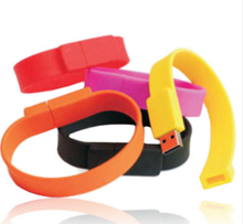Promotion Gift Colorful Silicon Wristband/ Bracelet Usb Flash Drive 8gb