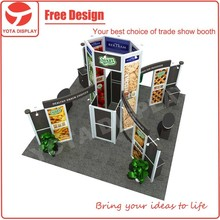 Yota offer Bgan, 20x20' trade show booth for expo