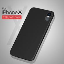 Premium Good quality 360 full protective slim flexible tpu back cover phone case for iphone X 8 6 6s 5 7 plus