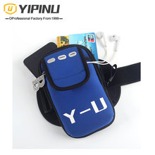 YIPINU Mobile <strong>phone</strong> accessories Neoprene sport armband for cell <strong>phone</strong> arm bag mini sport bag