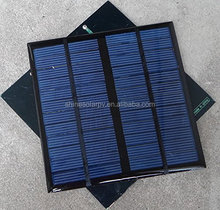 High Quality Solar Cell Epoxy Resin Small Pv Panel Solar Module 3w 12v For Electronics