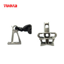 aluminium alloy insulated suspension clamp for overhead line fittings