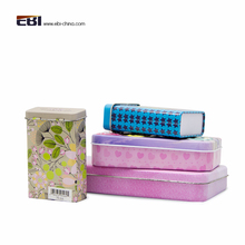 Spice Cookie Custom printed Small Rectangular Gift Mint New Tea Metal Tin box