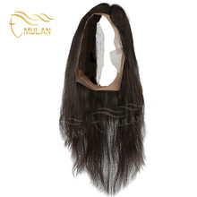 All hand tied 100% virgin human hair 360 lace frontal wig with free catalogs