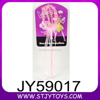 Kids graceful party birthday pink fairy wands