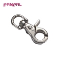 Factory Supply Round Eye Snap Hook Round Spring For Pet Leashes