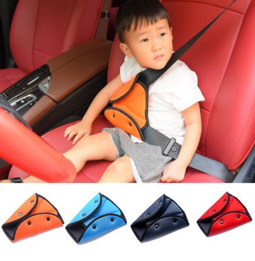Car Seat Belt Sturdy Adjuster Car Safety Belt Adjust Device Triangle Baby Child Protection Baby Safety Protector