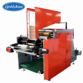 cling film aluminum foil semi automatic rewinding machine