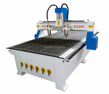 cnc woodworking machinery FL-1325 with two spindles cnc router