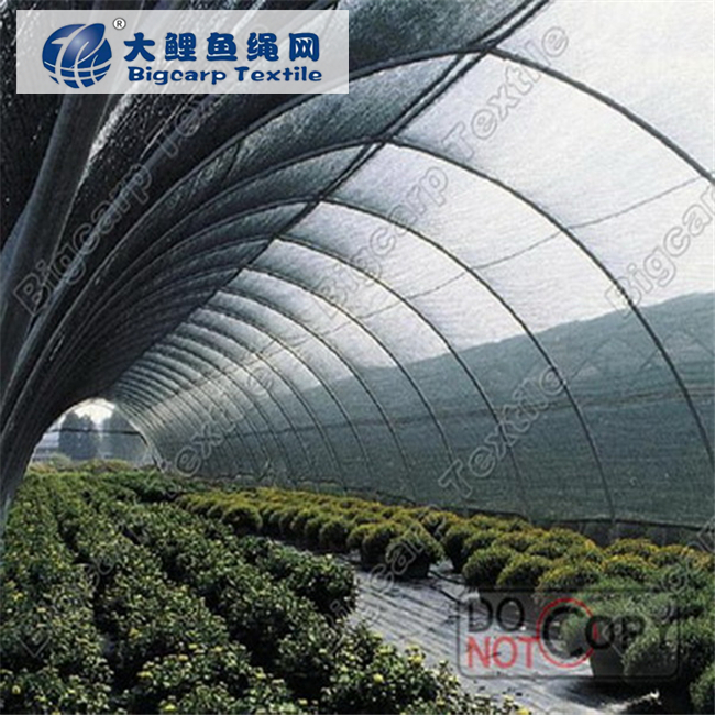 Long life agricultural greenhouse shadow net
