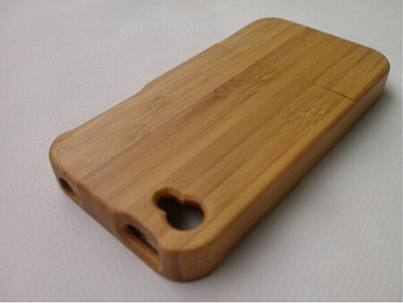 Luxury case For Apple iphone 5c Wooden Bamboo Hard cover