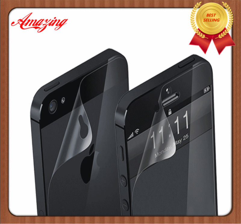 For iPhone 5 Screen Protector, mobile phone screen guard,100% perfect fit with Factory cheap price