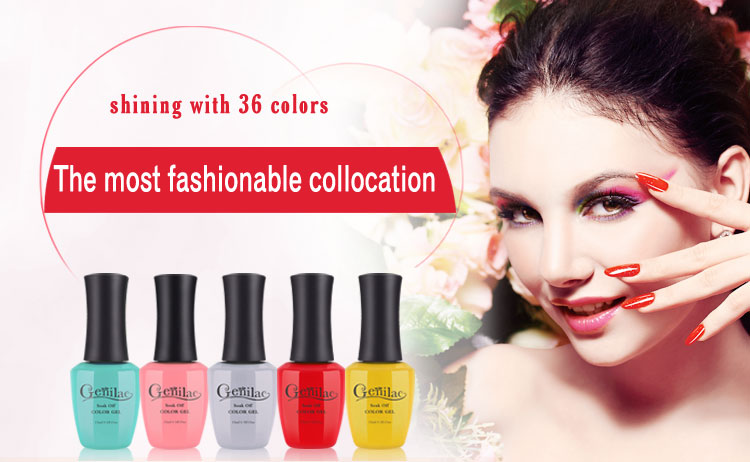 Unique with beautiful color popular UV & LED gel polish , nail polish