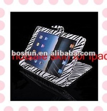 2012 Hotsale leather skin for ipad