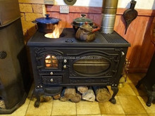Good Quality Cooking Oven Stove, Wood Burning Stove with oven