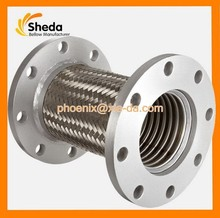ss 304 flexible metal hose with wire braided used for pump connection