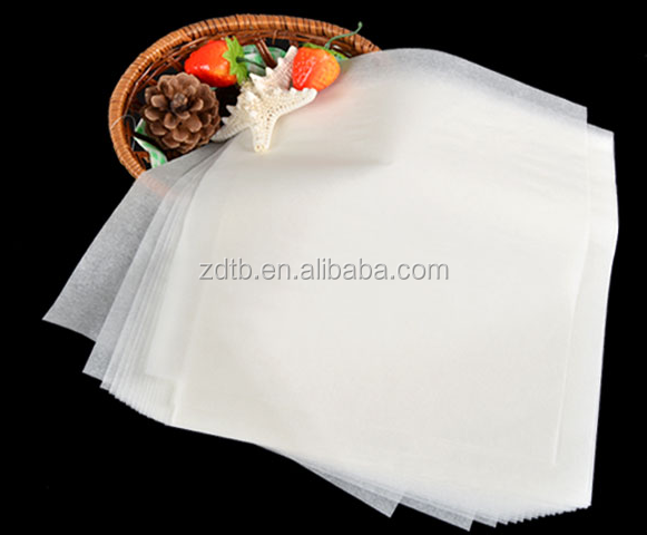 2017 newest high quality 40gsm cheap baking parchment paper in roll or in sheets