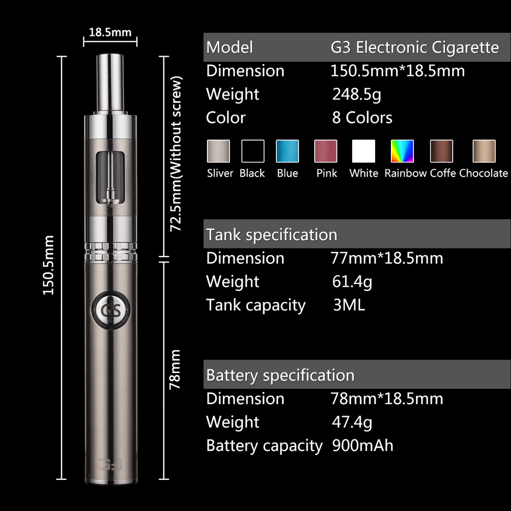 Price of E Cig Rechargeable Electronic Cigarette Smoker Friendly Electronic Cigarette